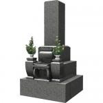 墓石 名古屋型(3段)